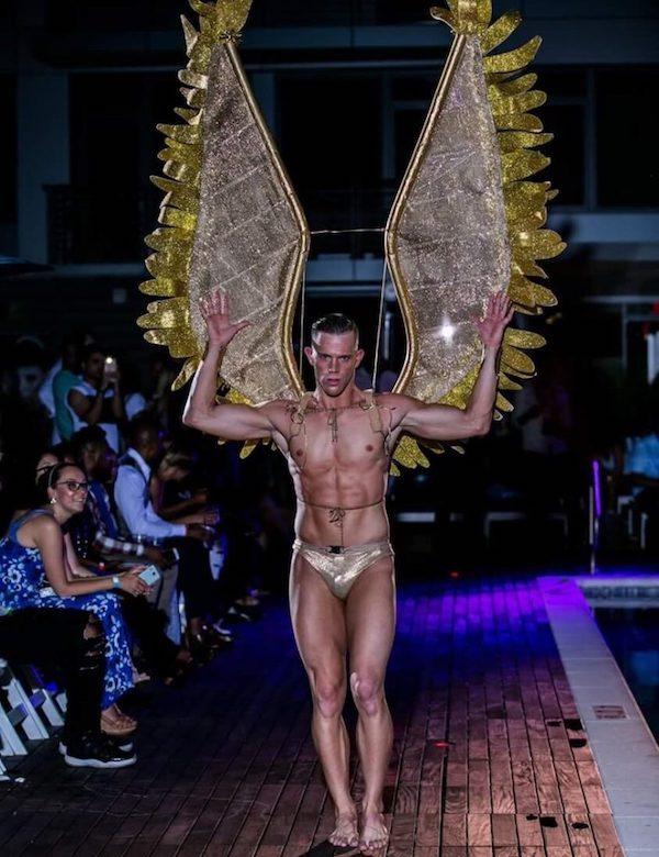 DC Swim Week 2016 | Vida at the Yard | Model | Angel | Gold