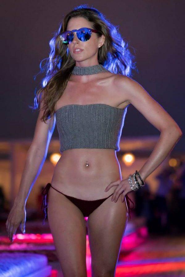 DC Swim Week 2016 | Vida at the Yard | Model | Two-Piece | Grey