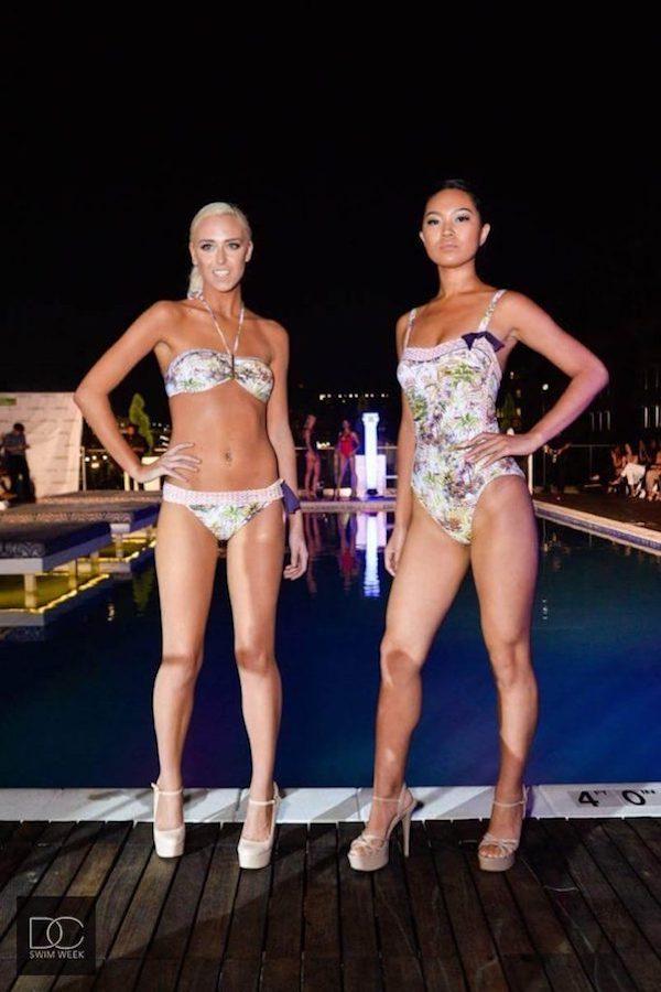 DC Swim Week 2016 | Vida at the Yard | Models | Two-Piece | Nature