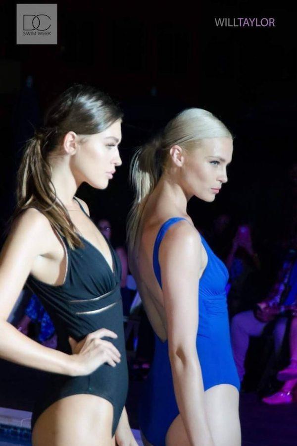 DC Swim Week 2016 | Vida at the Yard | New York City | Models | One-Piece | Black-Blue