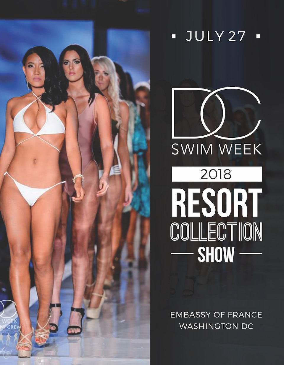 DC Swim Week 2018 | Resort Collection Show | Promo Flyer