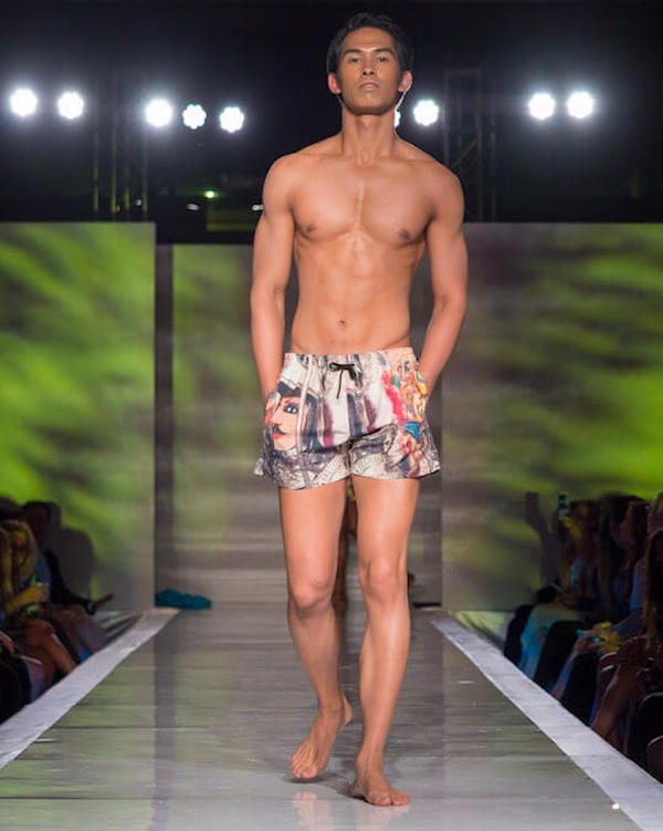 DC Swim Week 2018 | I Malandrini Swim | Trunks | Art Pattern