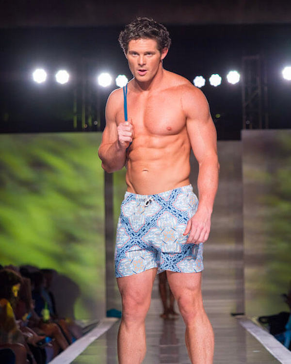 DC Swim Week 2018 | I Malandrini Swim | Trunks | Blue-Pattern