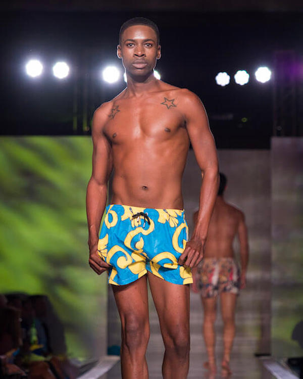 DC Swim Week 2018 | I Malandrini Swim | Trunks | Blue-Yellow