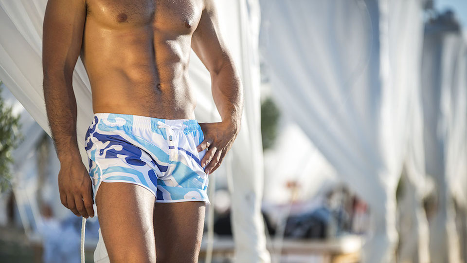DC Swim Week 2018 | I Malandrini Swim | Trunks | Purple-Blue